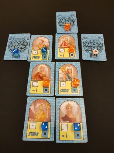 Board Game: Dance Of Muses