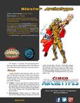 RPG Item: Super Archetypes: Blaster Archetype