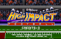 Video Game: High Impact Football
