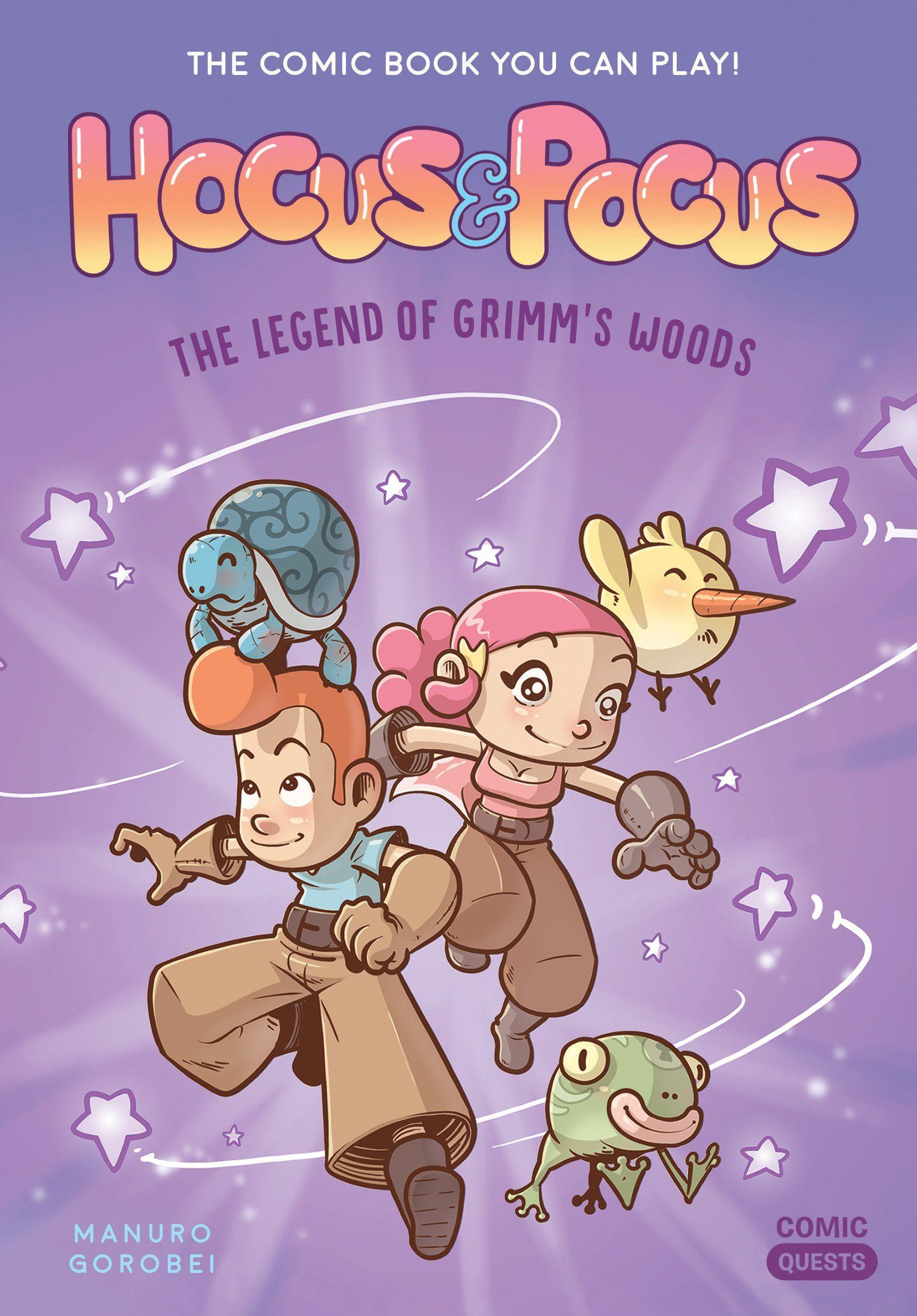 Hocus & Pocus: L'épreuve des Fabulins