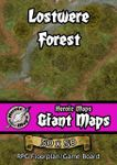 RPG Item: Heroic Maps Giant Maps: Lostwere Forest