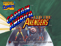 Video Game: Captain America and the Avengers