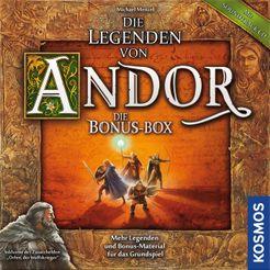 Die Legenden von Andor: Die Bonus-Box Cover Artwork