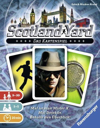 スコットランドヤード:カードゲーム:パッケージ