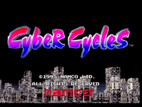 Video Game: Cyber Cycles
