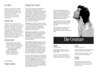 RPG Item: The Creature