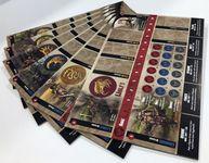 Board Game Accessory: Blood Rage: Cardboard Clan Dashboards