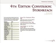 RPG Item: 4th Edition Conversion: Stormreach