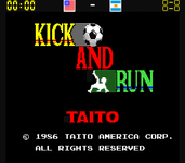 Video Game: Kick And Run