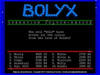 Video Game: Bolyx