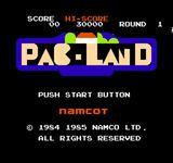 Video Game: Pac-Land