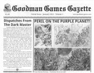 Issue: Goodman Games Gazette (Volume 1, Number 1 - Jan 2015)