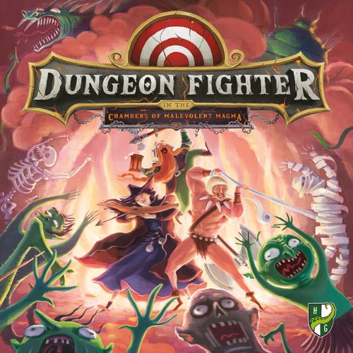 Board Game: Dungeon Fighter in the Chambers of Malevolent Magma