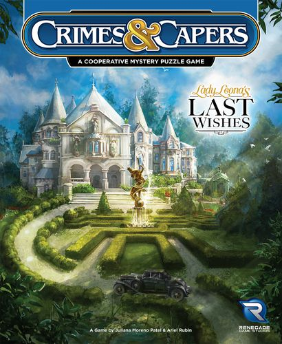 Board Game: Crimes & Capers: Lady Leona's Last Wishes