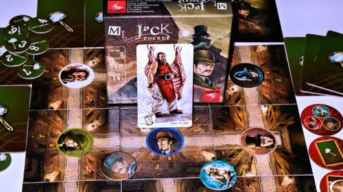 Board Game: Mr. Jack Pocket
