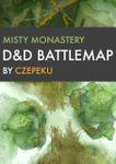 RPG Item: Misty Monastery D&D Battlemap