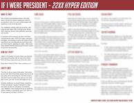 RPG Item: If I Were President