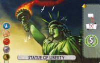 Board Game: 7 Wonders Duel: Statue of Liberty