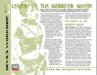 RPG Item: Legend of the Warrior Queen