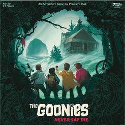 The Goonies: Never Say Die Cover Artwork