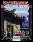 RPG Item: Krazy Kragnar's: Magic Staff Emporium