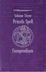 RPG Item: Priest's Spell Compendium, Volume Three