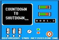 Video Game: Countdown to Shutdown