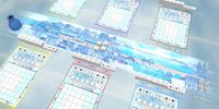 Board Game: Railroad Ink: Deep Blue Edition
