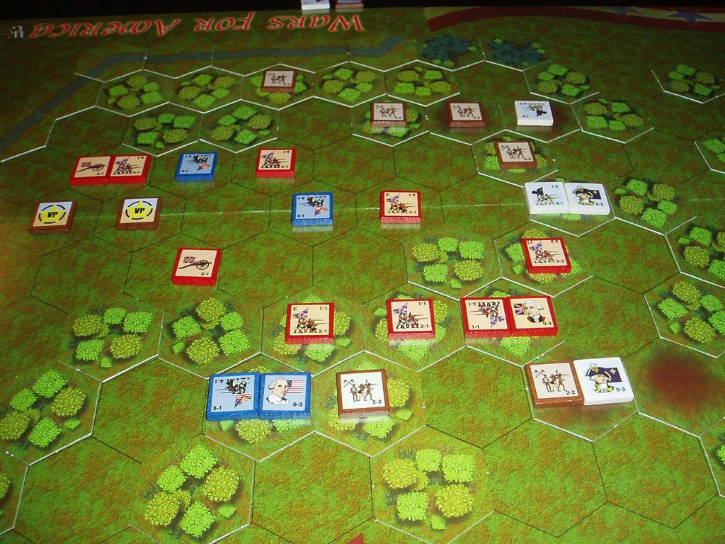 Board Game: Clash for a Continent:  Battles of the American Revolution and French & Indian War