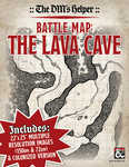 RPG Item: The DM's Helper: Battle Map: The Lava Cave
