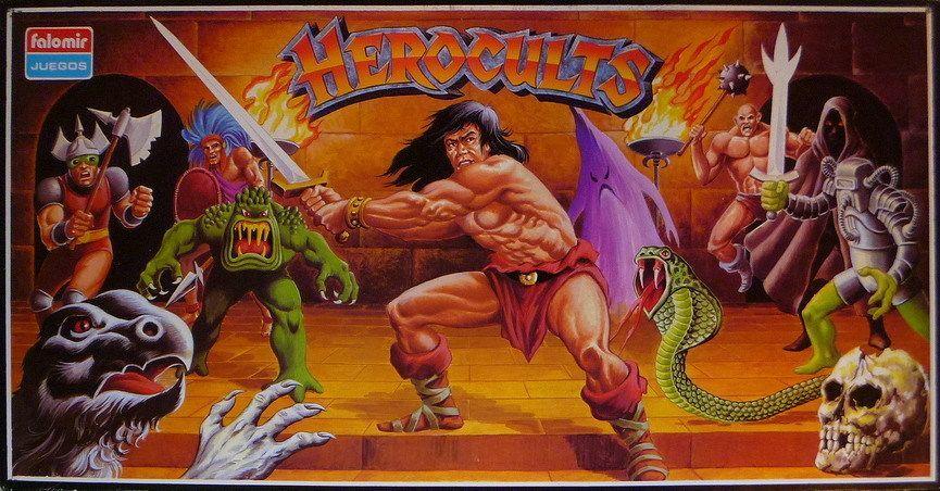 Board Game: Herocults