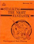 RPG Item: Bureau 13: Stalking the Night Fantastic (1st Edition)