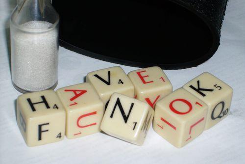 Board Game: Scrabble Dice