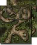 RPG Item: GameMastery Flip-Mat: Swamp