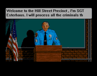 Video Game: Hill Street Blues