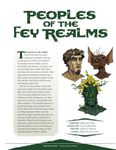 Issue: EONS #22 - Peoples of the Fey Realms