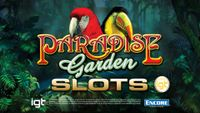 Video Game: IGT Slots Paradise Garden