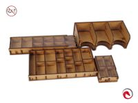 Board Game Accessory: 7 Wonders: e-Raptor Insert