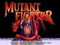 Video Game: Mutant Fighter