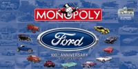 Board Game: Monopoly: Ford 100th Anniversary