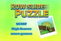 Video Game: Row Slide Puzzle
