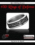 RPG Item: #30 Rings of Defense