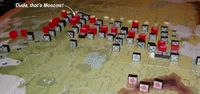 I September '41: the Axis blitz with two HQs, break through in four places, and encircle Moscow!