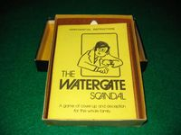 Board Game: The Watergate Scandal