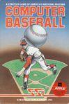 Video Game: Computer Baseball