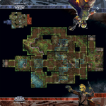 Board Game Accessory: Star Wars: Imperial Assault – Nal Hutta Swamps Skirmish Map