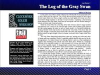 RPG Item: Lost Books 03: The Log of the Gray Swan