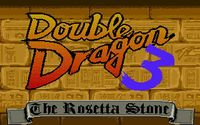 Video Game: Double Dragon III: The Sacred Stones