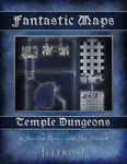 RPG Item: Fantastic Maps: Illfrost: Temple Dungeons