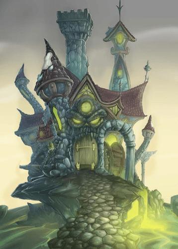 Board Game: Awesome Kingdom: The Tower of Hateskull